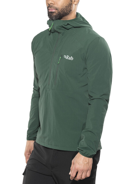 Rab Borealis Pull-on Pull-on Jacket Men Evergreen